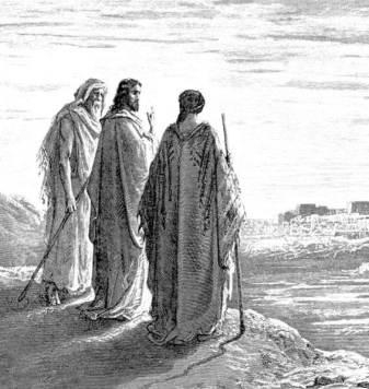Jesus-and-Essenes-drawing